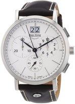 Br.Uno Sohnle 17-13112-241 - Men's Wristwatch, Leather, color: Black