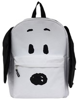 Snoopy Peanuts 16 with Plush Ears Kids Backpack - White