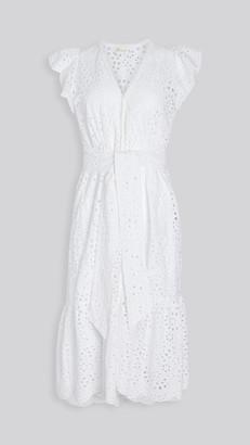 Shoshanna Handkercheif Midi Dress