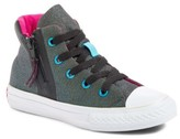 Converse Infant Girl's Chuck Taylor All Star Shine High Top Sneaker
