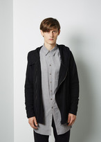 Forme d'Expression Wool Hooded Zip Jacket
