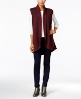 Style&Co. Style & Co. Shawl-Collar Sweater Vest, Only at Macy's