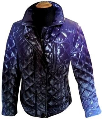 Moncler Classic Purple Coat for Women