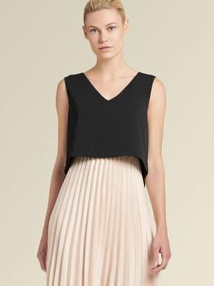 DKNY Two-piece Pleated Dress