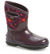 Bogs Women's 'Watercolor' Mid High Waterproof Snow Boot With Cutout Handles