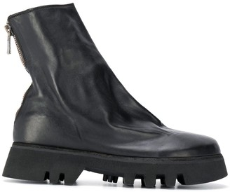 Guidi Chunky-Sole Leather Boots