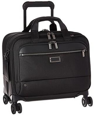 Briggs & Riley @work Medium Spinner Brief (Black) Briefcase Bags