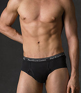 Polo Ralph Lauren Big & Tall Classic-Fit Cotton Mid-Rise Brief 2-Pack