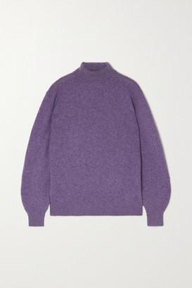 KHAITE Julie Cashmere-blend Turtleneck Sweater - Lilac