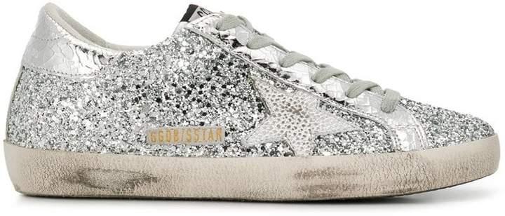 Golden Goose Superstar glittered sneakers