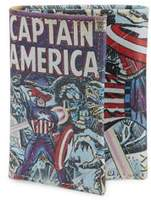 Marvel Captain America Leather Tri-Fold Wallet