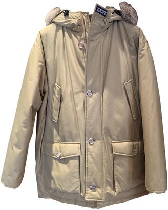 Woolrich Beige Polyester Coats