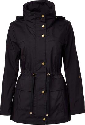 Cole Haan Women's Travel Packable Rain Jacket