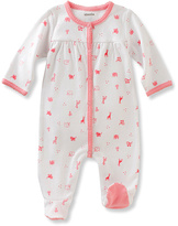 Absorba Coral Animal Footie - Infant