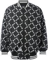 Kokon To Zai square latin bomber jacket - men - Polyester - M