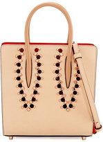 Christian Louboutin Paloma Small Studded Leather Tote Bag, Neutral/Multi