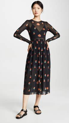 Edition10 Mesh Floral Dress