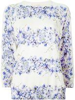 Giambattista Valli floral print sweater