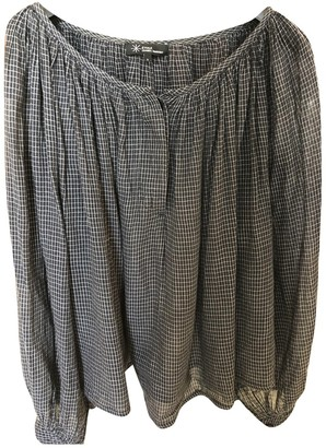 Etoile Isabel Marant Anthracite Cotton Top for Women