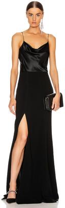 Cinq à Sept Ana Gown in Black | FWRD