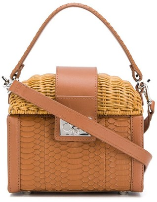 Rodo Croc Embossed Tote Bag