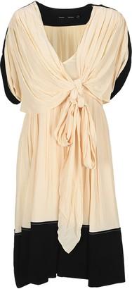 Proenza Schouler V-Neck Panelled Dress