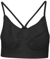 Malibu Sugar - Tween Girl's Solid Bra Cami - Black 7-14