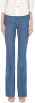 MiH Jeans Marrakesh slim-fit kick flare high-rise jeans