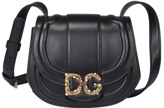 Dolce & Gabbana Logo Plaque Saddle Bag