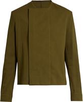 Haider Ackermann Collarless long-sleeve shirt