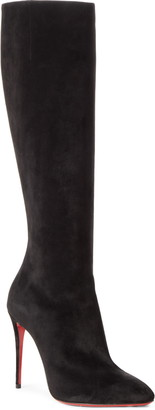 Christian Louboutin Eloise Pointed Toe Knee High Boot