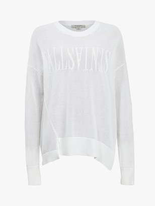 AllSaints Vita Crew Cotton Jumper