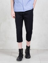 Cmmn Swdn Albin Cropped Leg Wool Trousers