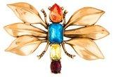 Oscar de la Renta Dragonfly Brooch