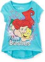 Children's Apparel Network Green Disney Princess Ariel 'Besties' Tee - Toddler & Girls