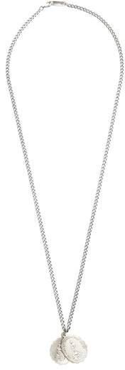 Miansai Saints Sterling Silver Necklace - Mens - Silver Multi