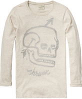 Scotch & Soda Longer Artwork T-Shirt