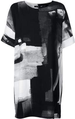 Natori printed T-shirt dress