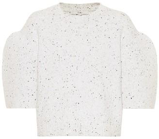 Tibi Tweedy wool-blend top