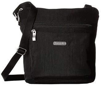 Baggallini Legacy Crossbody Bag w/ RFID Wristlet (Charcoal) Cross Body Handbags