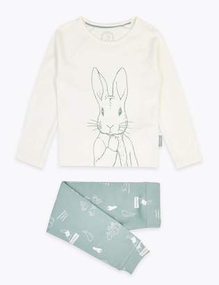 Marks and Spencer Peter Rabbit Print Pyjama Set (1-6 Years)