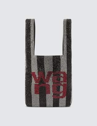 Alexander Wang Wangloc logo mini shopper