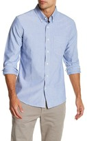 Jack Spade Sheppard Solid Oxford Trim Fit Shirt