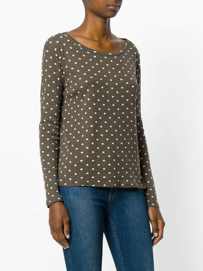 Majestic Filatures polka dot T-shirt