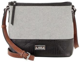 Cellini CSR046 Bianca Zip Top Crossbody Bag