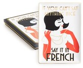 Rosanna 'If You Can'T Say Anything Nice, Say It In French' Porcelain Tray