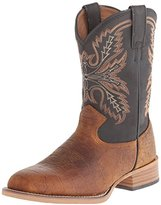 Justin Boots Kids' Coyote Brown Bent Rail Western