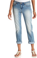 Style&Co. Petite Jeans, Cuffed Ex-Boyfriend, Millenium Wash