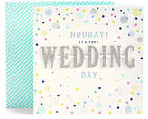 Marks and Spencer Hooray Wedding Day Card