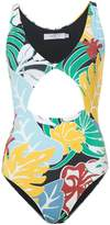 Patbo tropical print swimsuit